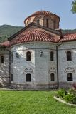 Old churches in Medieval Bachkovo Monastery, Bulgaria stock photography