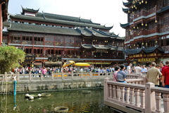 View of Old City area in Shanghai, China Stock Images