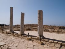 View of the old city of Caesarea Israe Stock Images