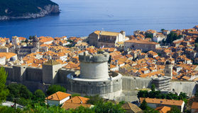 View of the old city of Dubrovnik. Croatia Stock Photography