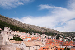 View of the old city of Dubrovnik, Croatia Royalty Free Stock Photography