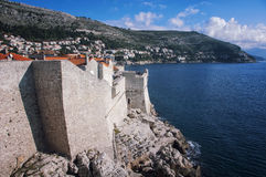 View of Old City Dubrovnik, Croatia Stock Image