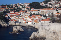 View of Old City Dubrovnik Royalty Free Stock Image