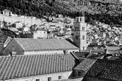 View of Old City Dubrovnik Stock Photography
