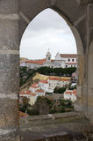 View on the old city lisboa Stock Photography