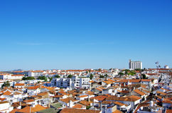 View of old city, Moura, Portugal Stock Images
