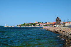 View on old city of Nessebar Stock Photography