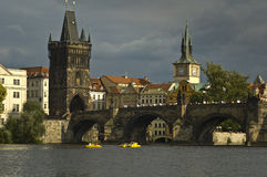 View of old city Prague - czek republic Stock Photography