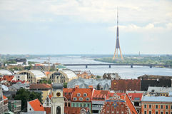 View of old city of Riga Royalty Free Stock Photography