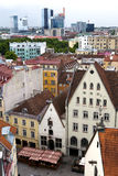 View of Old city's roofs. Tallinn. Estonia Stock Images