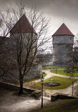 View on Old city of Tallinn Stock Photos