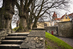 View on Old city of Tallinn Stock Image