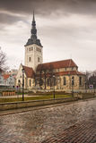 View on Old city of Tallinn Royalty Free Stock Photos