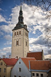 View on Old city of Tallinn. Estonia Royalty Free Stock Photos