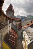 View on Old city of Tallinn. Estonia Royalty Free Stock Image
