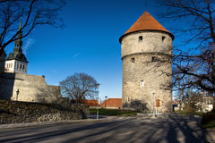 View on Old city of Tallinn. Estonia Stock Photo