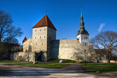 View on Old city of Tallinn. Estonia Stock Image