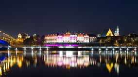 View of the old city in Warsaw Royalty Free Stock Photography