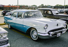 View of old classic vintage retro car Royalty Free Stock Images