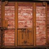 View of old door Stock Images