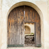 View of old door Stock Photography