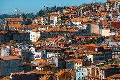 View old downtown of Porto, Portugal. Travel. Royalty Free Stock Photo