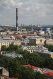 View of old European city from height of bird's flight. Saint Petersburg, Russia, Northern Europe. Stock Images