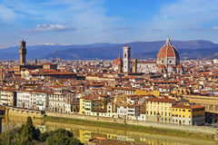 View at the old Florence Royalty Free Stock Images