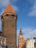 View of old Gdansk, Poland Royalty Free Stock Photo