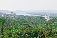View of Old Goa Royalty Free Stock Photos