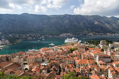 View of old Kotor Stock Photos
