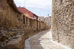 View of old Leon wall Stock Image