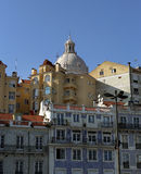 View on the old Lisbon city Stock Photo
