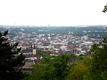 View of Old Lviv Royalty Free Stock Photography