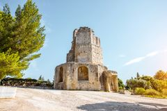 Nimes city in southern France royalty free stock photos