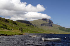 View of the Old Man of Storr Royalty Free Stock Photo