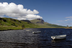 View of the Old Man of Storr Stock Photography