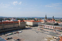 View old market dresden. View old market place dresden saxonia germany stock photography