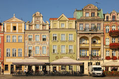 Old market square. Poznan. Poland Royalty Free Stock Image