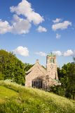 View of an old Medieval Church. A Scenic View of an old Medieval Church in Stockholm Sweden Stock Photo