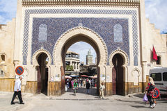 View of old medina in Fes Royalty Free Stock Image