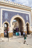 View of old medina in Fes Royalty Free Stock Images