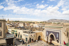 View of old medina in Fes Royalty Free Stock Photography