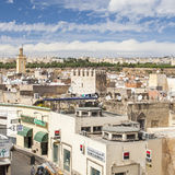 View of old medina in Fes Stock Photos