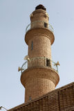 Old Minaret in Erbil, Iraq. Royalty Free Stock Photos