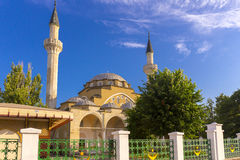 View on old mosque in Evpatoria town Stock Photo