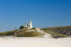 View of old Orhei, Moldova Royalty Free Stock Image