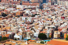 View of old part of Alicante Royalty Free Stock Photography