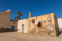 View of the old part of Sidi Ifni Stock Photography