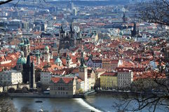 View of the Old Place. Prague Royalty Free Stock Photos
